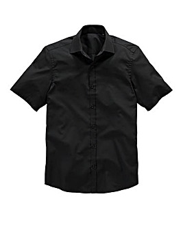 Black Label by Jacamo SS Formal Shirt R