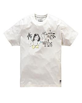 Jacamo Coryell Print T-Shirt Long
