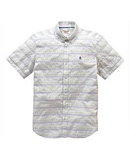 Original Penguin Palm Tree Shirt L