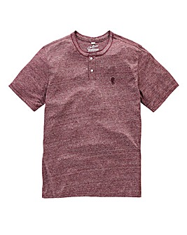 Jacamo Griffin Red Marl T-Shirt Regular
