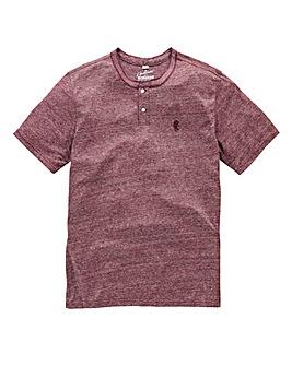 Jacamo Griffin Red Marl T-Shirt Regular