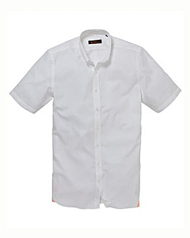 Ben Sherman Short Sleeve Poplin Shirt R