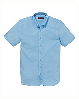 Ben Sherman Short Sleeve Poplin Shirt L