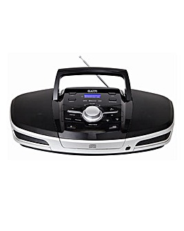CD MP3 USB Bluetooth Player - Black