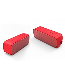 Cello Portable Bluetooth Speaker - Red