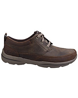 Skechers Harper Olney Mens Leather Shoes