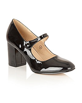 Dolcis Kyra heeled court shoes