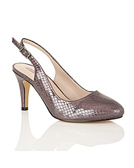Dolcis Shakira sling back court shoes
