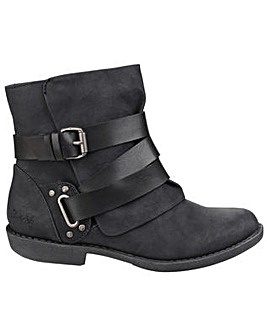 Blowfish Alias Zip up Ankle Boot