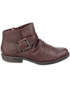 Blowfish Aeon Zip up Ankle Boot
