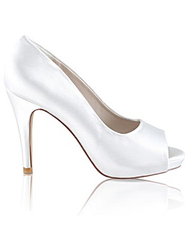 Perfect Marietta Peep Toe Platform