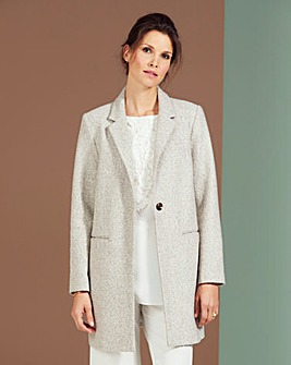 Lightweight Textured Coat