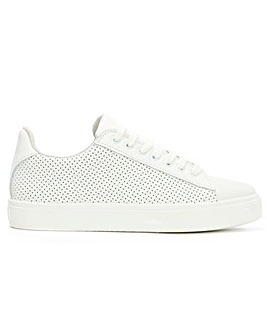 Daniel Leather Perforated LaceUp Trainer