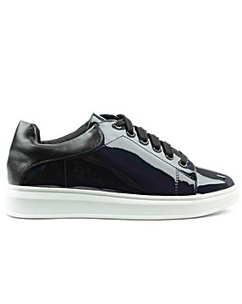 Daniel Catalpa Black Patent Trainer