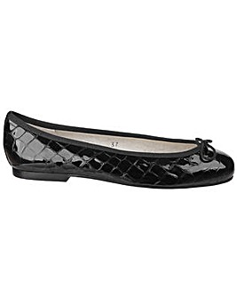 French Sole Henrietta Croc