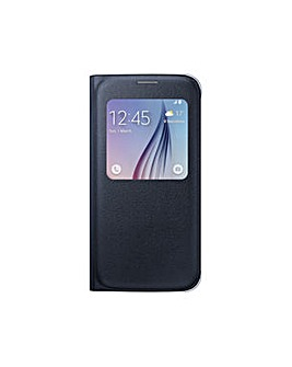 Samsung Galaxy S6 S-View Cover (PU) Blk
