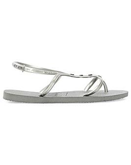 Havaianas Metallic Multiple Strap Sandal