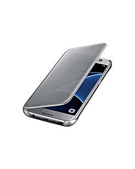 Samsung Galaxy S7 Clear View Cover Silv