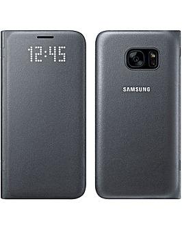 Samsung Galaxy S7 LED Cover Black