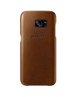 Samsung Galaxy S7Edge Leather Cover Brn