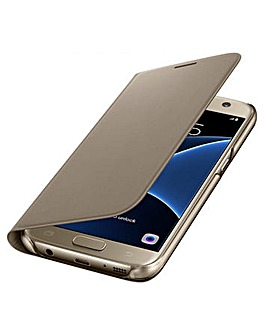 Samsung Galaxy S7Flip Wallet Cover� Gld