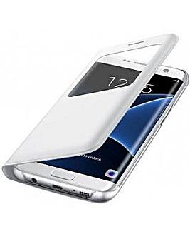 Samsung Galaxy S7 Edge S View Cover Wht