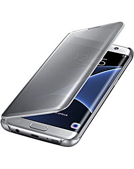 Samsung Gal S7Edge ClearView Cover Silv