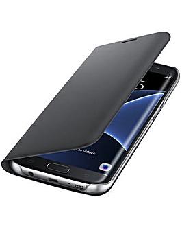 Samsung Gal S7Edge FlipWallet Cover�Blk