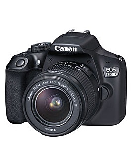 Canon EOS 1300D SLR inc 18-55 DCIII lens