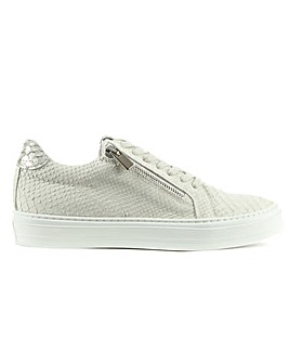 Daniel Sweets Suede Reptile Trainer