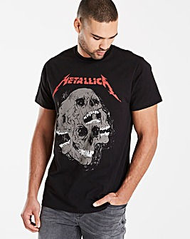 Metallica Black T-Shirt L