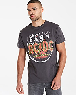 ACDC Charcoal T-Shirt L
