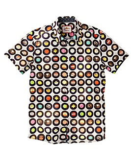 Joe Browns Vintage Vinyl Shirt Regular