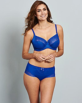 Pour Moi Electra Wired Full Cup Bra Blue