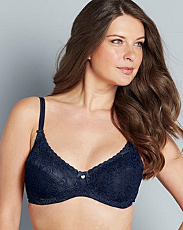 Berlei Heaven Lace Navy Full Cup Bra