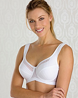 Miss Mary Jacquard Full Cup Wired Bra
