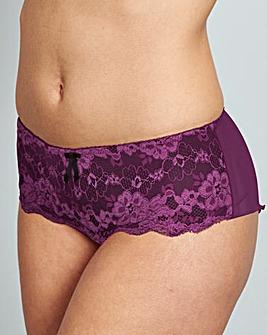Pour Moi Amour Purple Shorts