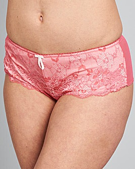 Pour Moi Amour Pink Shorts