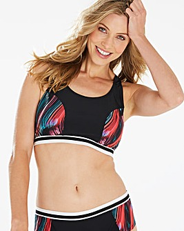 Beach to Beach Sports Bikini Crop Top