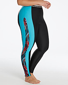 Beach to Beach Sports Swim Legging