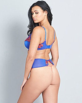 The Intensa Blue/Red Thong