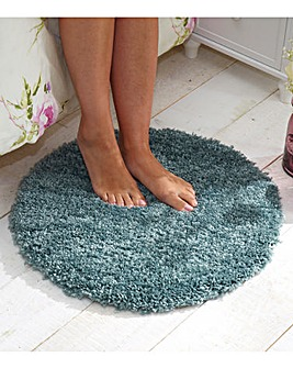 Circular Polypropylene Bedroom Rug