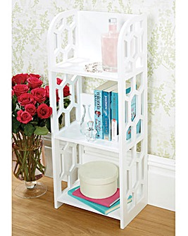 3 Shelf Fretwork Unit