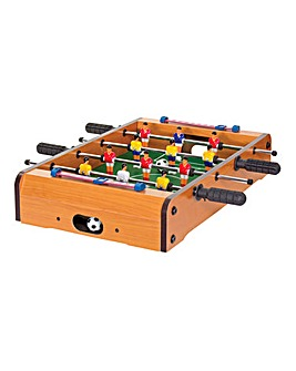 Wooden Tabletop Football