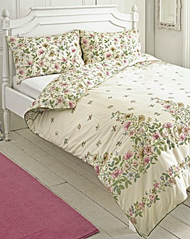 Vantona Cottage Garden Duvet Cover Set
