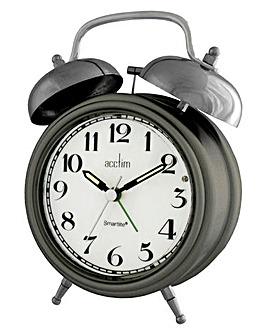 Smartlite Double Bell Alarm Clock
