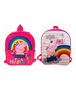 Peppa Pig Reversible Backpack
