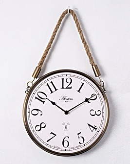 Radio Controlled Pocket Watch Wall Clock