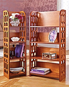Fretwork Shelves