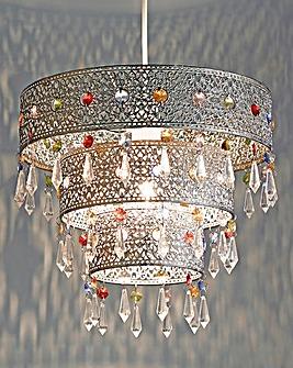 Morrocan Inspired Beaded Pendant
